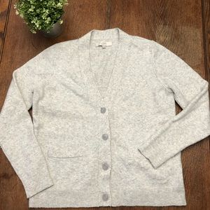 LOCT V-neck cardigan with pockets